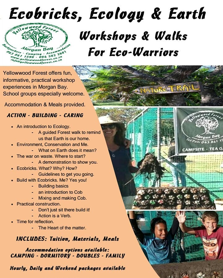Ecobrick, Ecology & Earth Workshops
